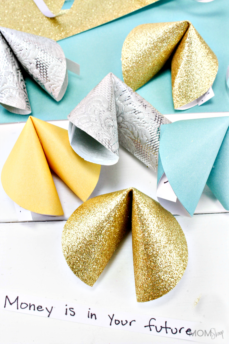 Paper Fortune Cookie Crafts