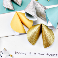 Paper Fortune Cookie Craft - Fun & Easy To Make!
