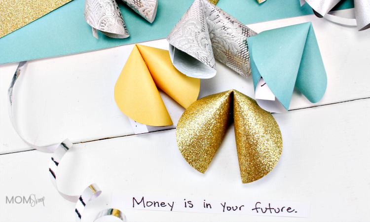 Paper Fortune Cookie Craft