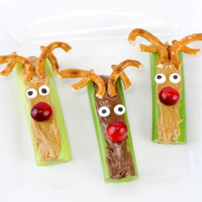 Celery and Peanut Butter Rudolph Snacks Recipe – Here's How to Make These Yummy Treats