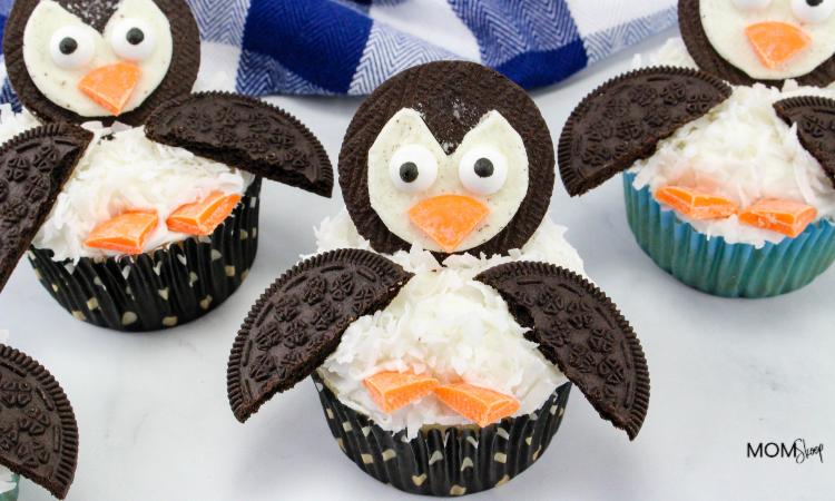 Penguin Cupcakes
