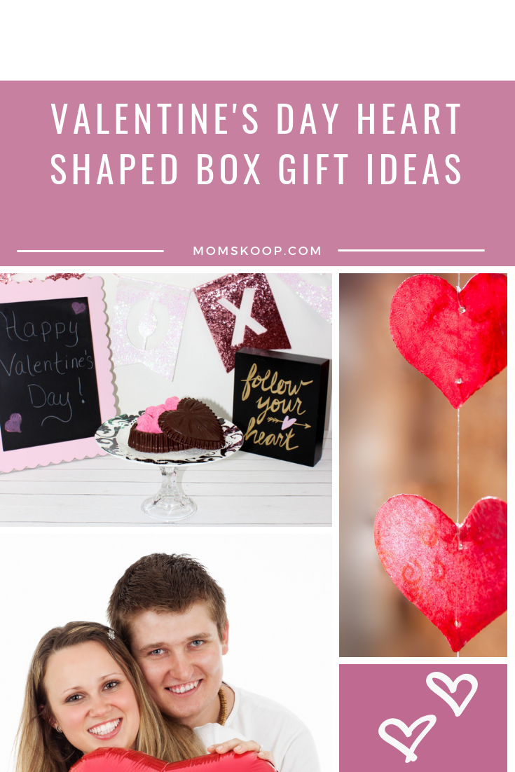 Valentine's Day Heart Shaped Box Gift Ideas