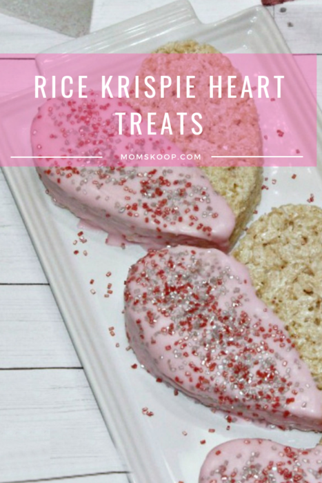 Rice Krispie Heart Treats