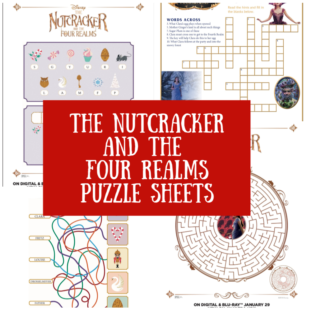 The Nutcracker Puzzle Sheets