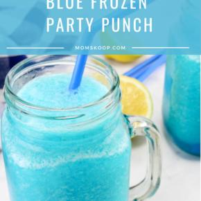 Blue Frozen Party Punch