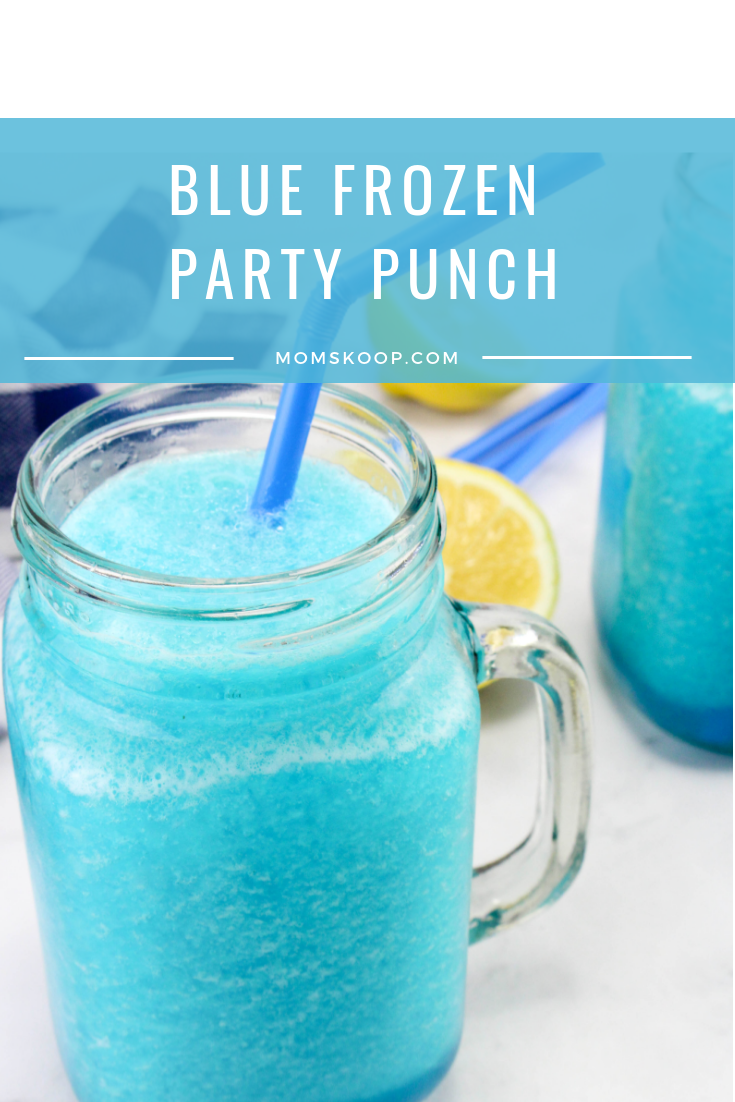 Blue Frozen Party Punch