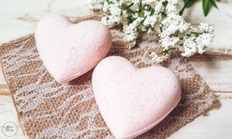 Pink Heart Bath Bombs