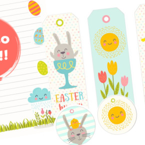 free easter printable easter bunny letter easter bookmarks easter cupcake toppers
