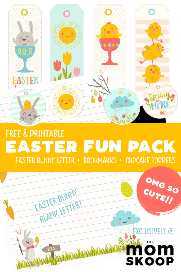 image relating to Letter From Easter Bunny Printable called Cost-free Easter Printable: Easter Bunny Letter (and extra