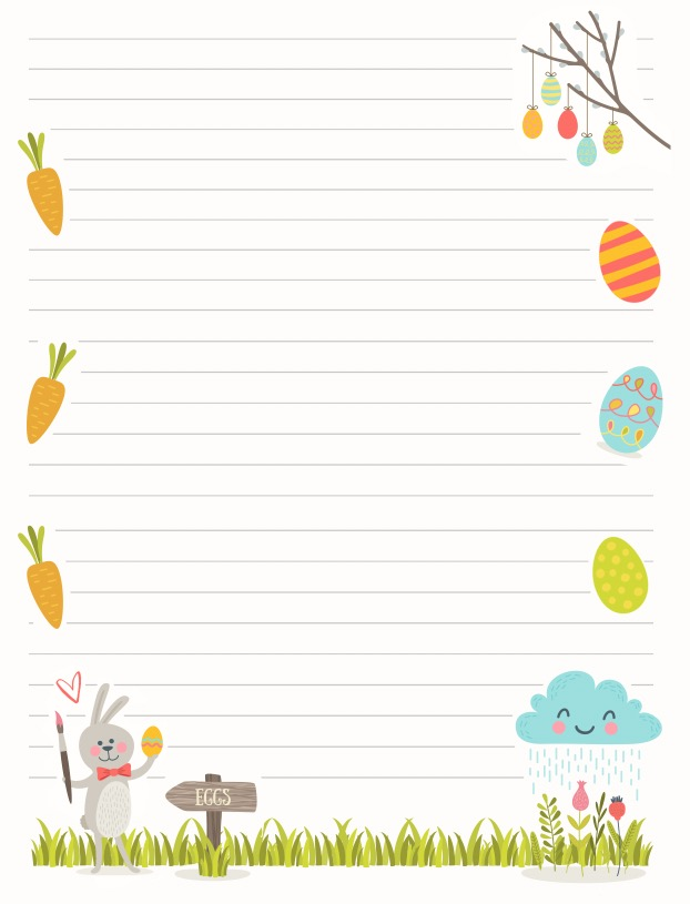 photo regarding Letter From Easter Bunny Printable named Free of charge Easter Printable: Easter Bunny Letter (and further