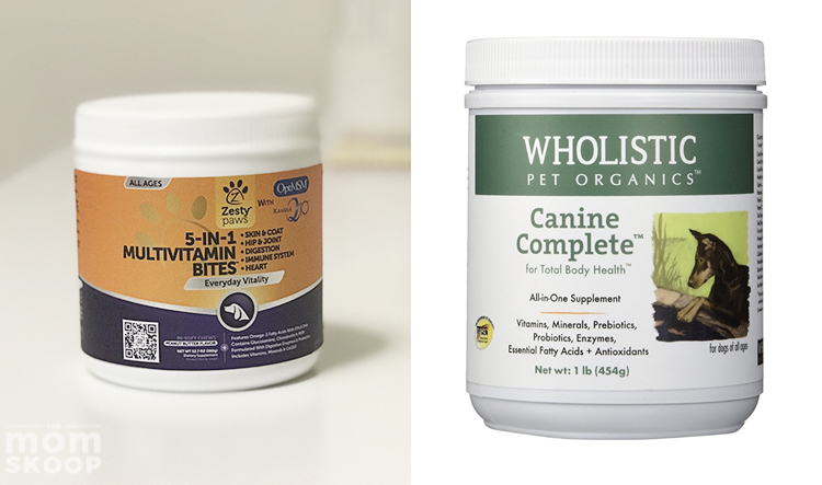 what to buy for new puppy daily vitamins supplements
