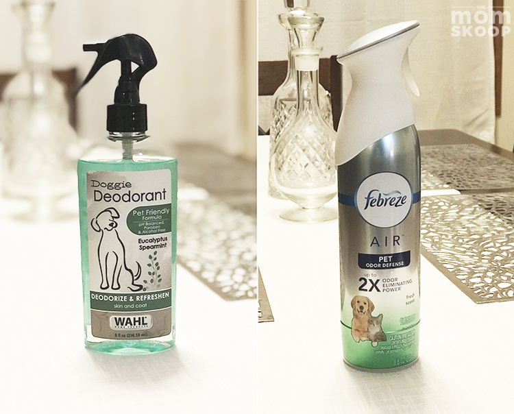 what to buy for new puppy deoderant airfreshener pet odor spray