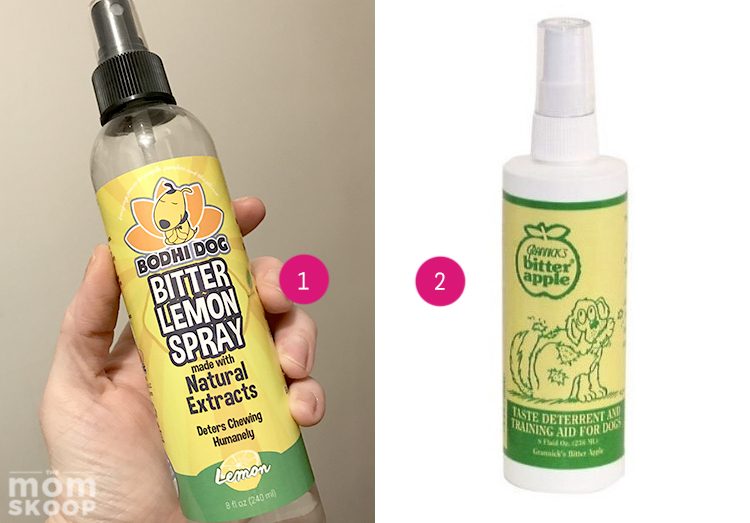 what to buy for new puppy stop chewing spray bitter