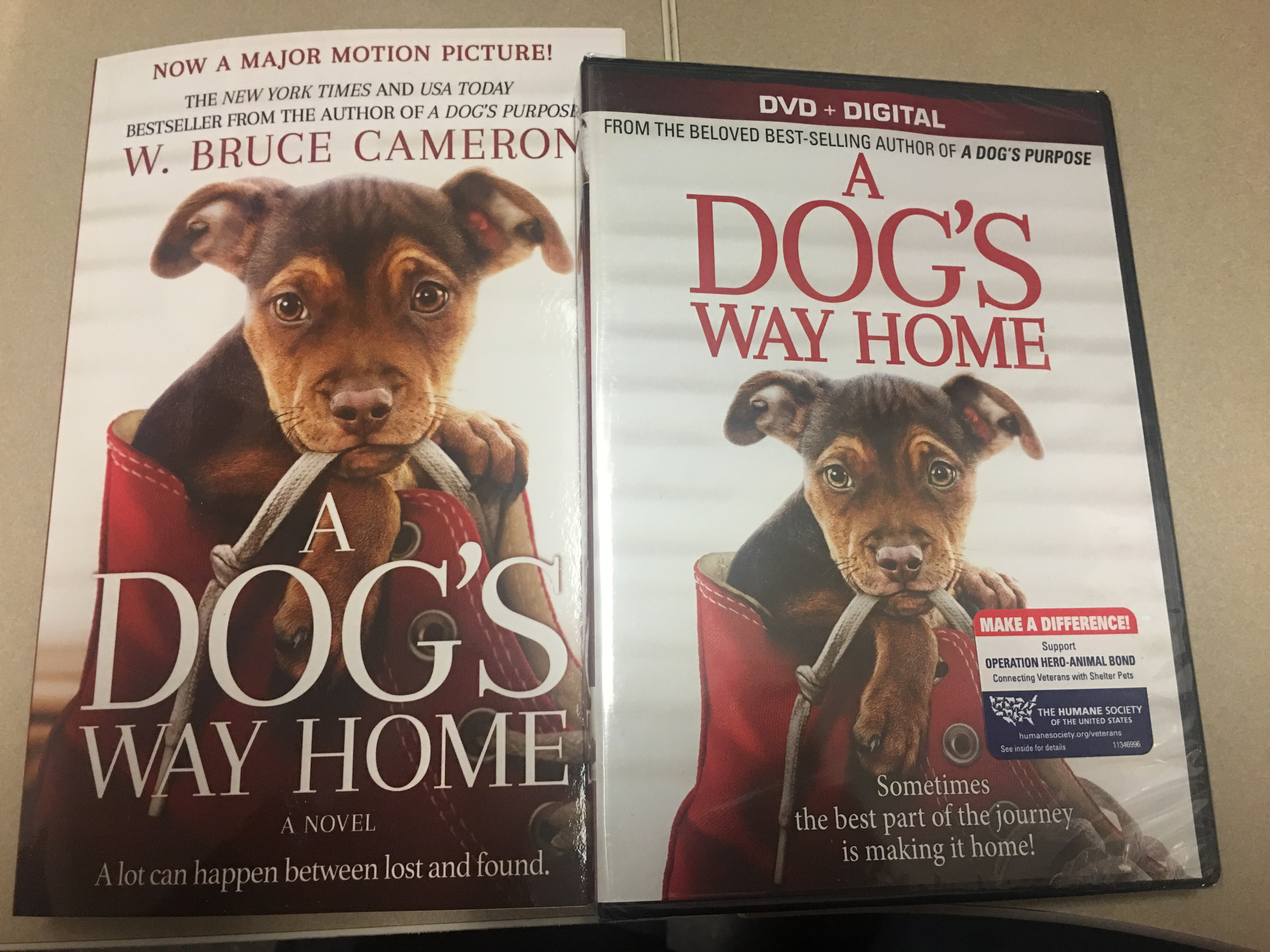 A Dog's Life DVD and Book Giveaway