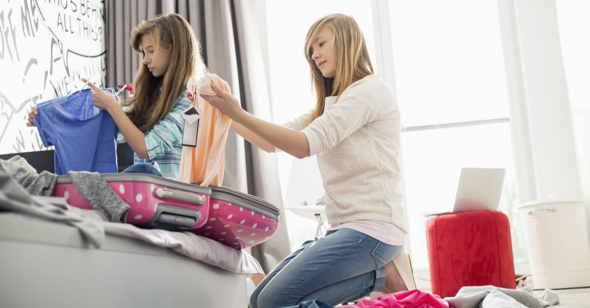 How to pack lighter for family vacation 4