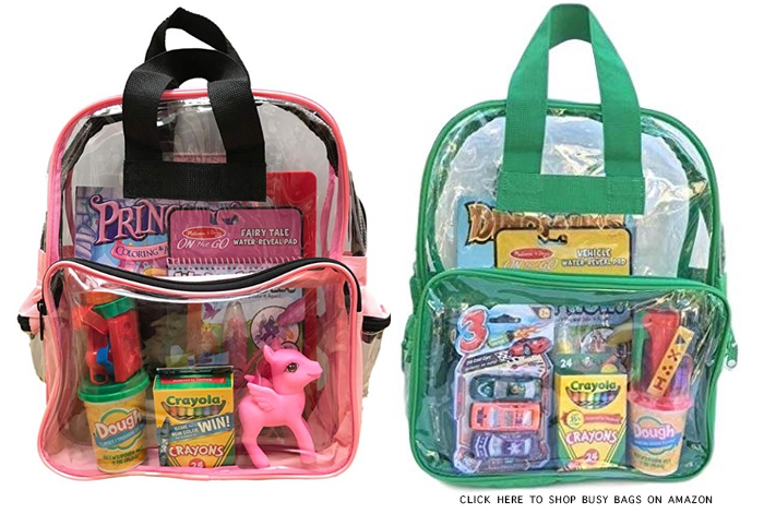 TRAVEL ACTIVITY BAGS FOR KIDS