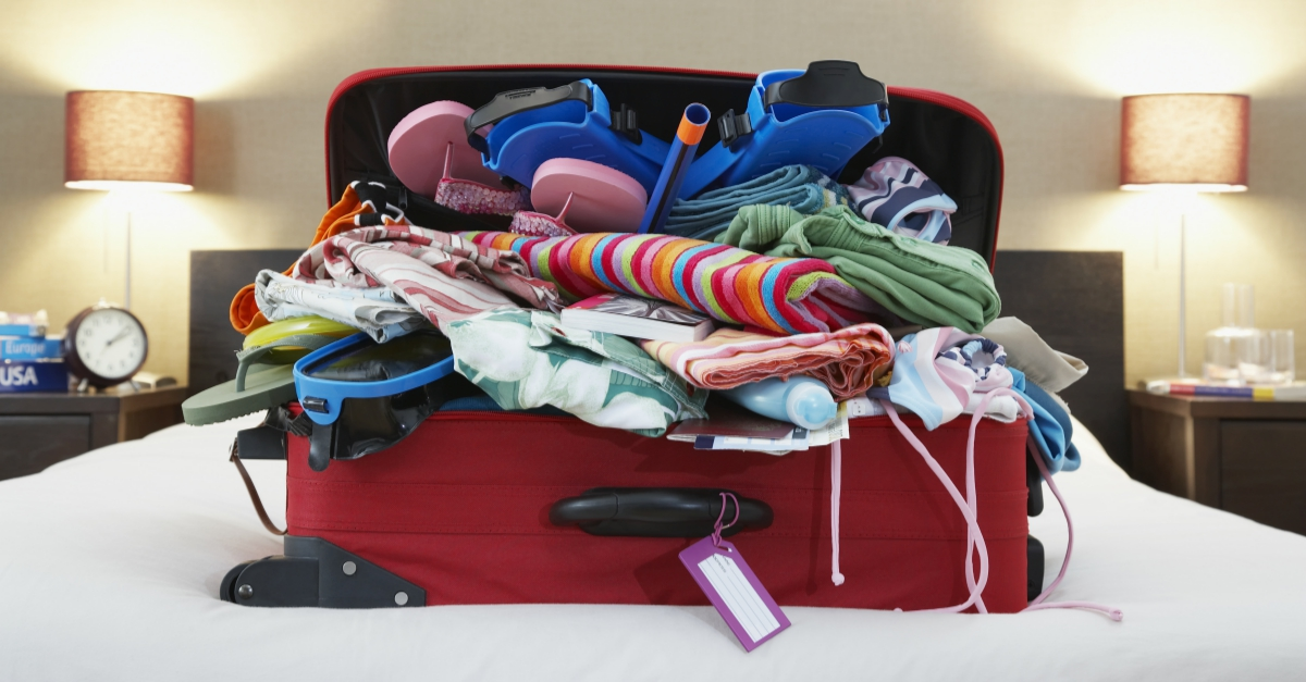 how to pack lighter for family vacation momskoop