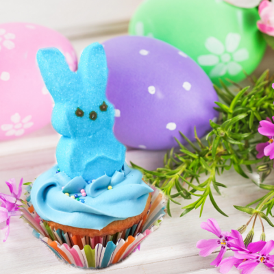 Peeps Cupcakes – A Fun Easter Treat!