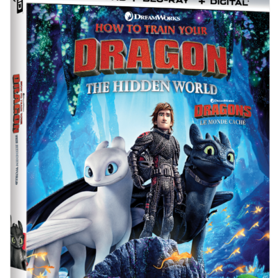 HOW TO TRAIN YOUR DRAGON: THE HIDDEN WORLD DVD