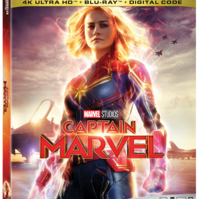 CAPTAIN MARVEL OUT ON BLU-RAY!