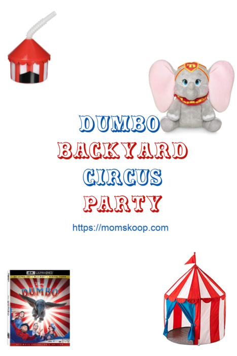 Dumbo Backyard Circus Party, Backyard Circus Party. Circus Party