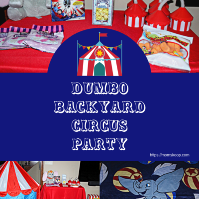 HOST A DUMBO BACKYARD CIRCUS PARTY TO CELEBRATE THE RELEASE ON DVD!