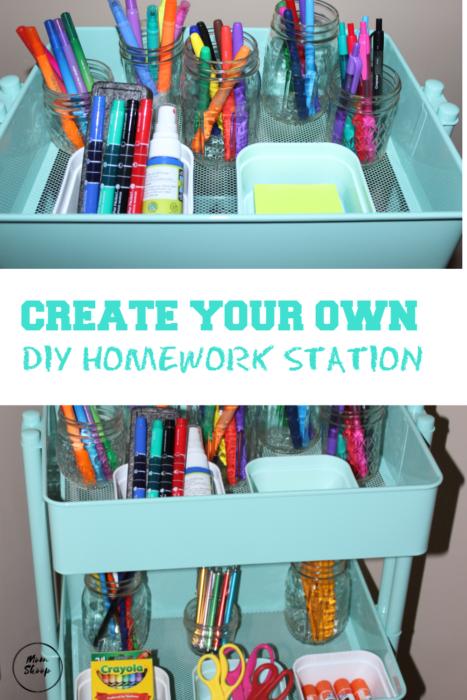 DIY Homework Station
