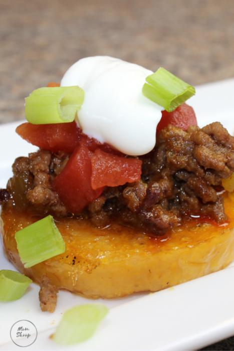 Mexican Polenta Bites