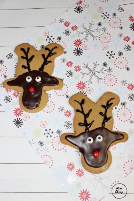 Reindeer Gingerbread Cookies Momskoop