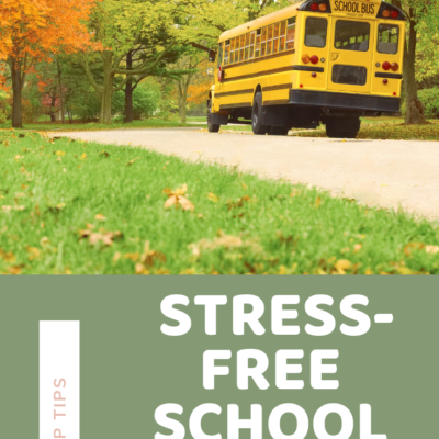 TOP TIPS FOR STRESS-FREE SCHOOL MORNINGS