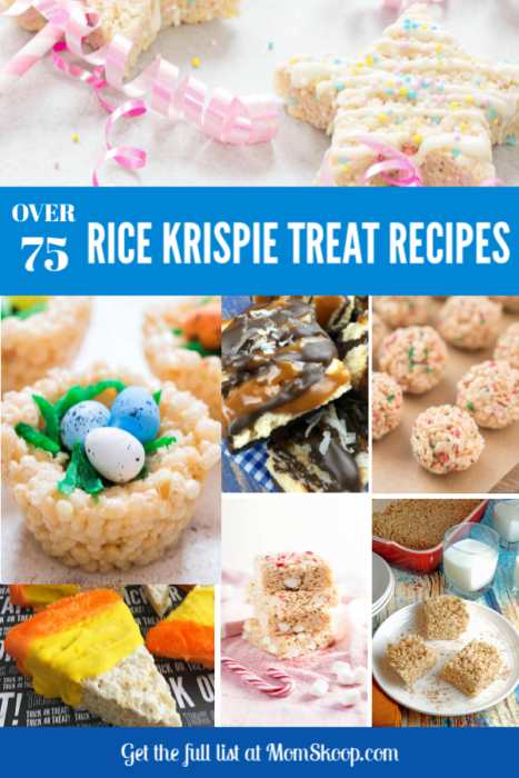 Best Rice Krispie Treat Recipes #ricekrispies #ricekrispytreats