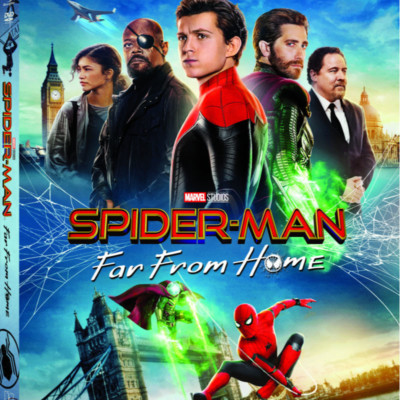 SPIDER-MAN FAR FROM HOME DVD & DIY MYSTERIO CUPCAKE + GIVEAWAY