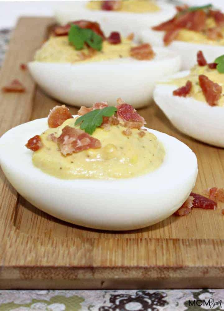 Bacon Jalapeno Deviled Eggs Recipe - MomSkoop