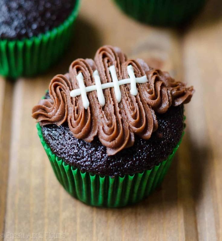 How To Make Football Cupcakes