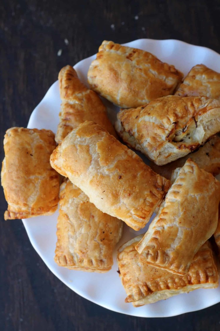 Chicken Puff Pastry {Chicken Patties} — Food, Pleasure & Health