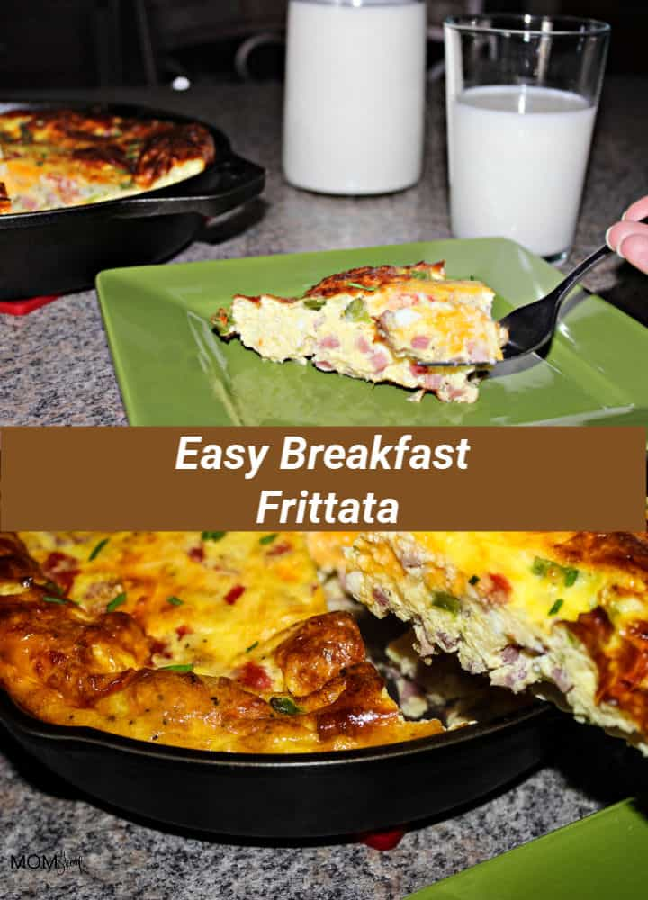 Morning Cravings Satisfied With A Easy Breakfast Frittata and Kroger