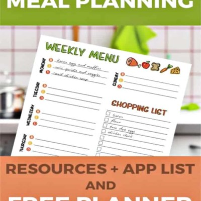 How to Meal Plan Plus Free Printable