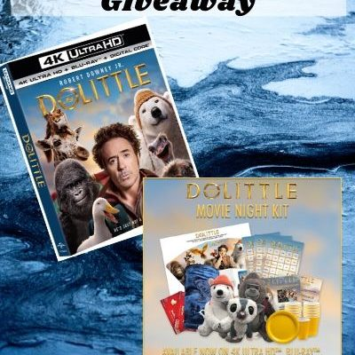 Dolittle Family Movie Night PLUS Giveaway!!