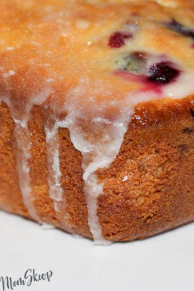 Lemon Blueberry Bread Recipe - MomSkoop