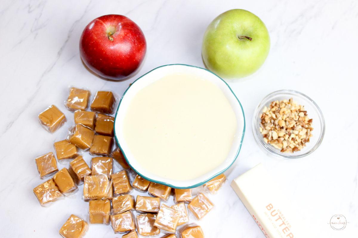 Ingredients need to make Apple dip