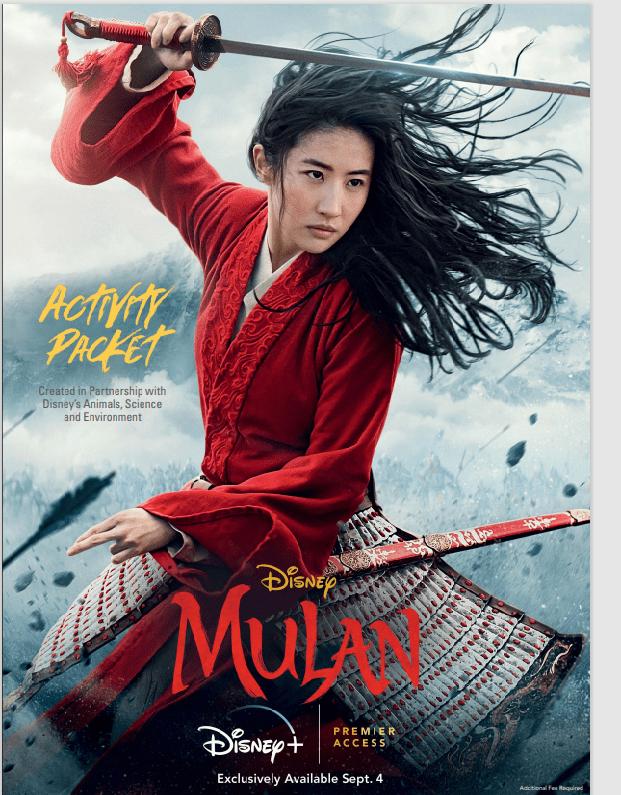 Mulan Educational Activity Pack